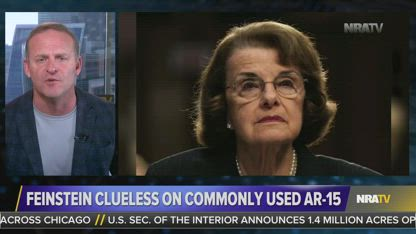 After All These Years, Dianne Feinstein Is Still Clueless About Guns