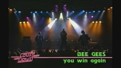 Bee Gees - You Win Again 1987