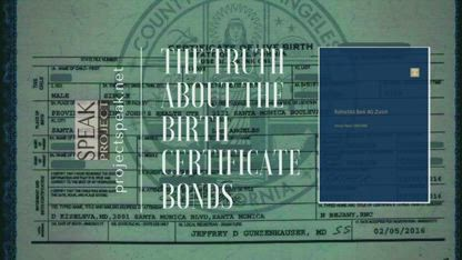 "The Truth About The Birth Certificate Bonds, by  Kimberly A Goguen aka Kim ""Possible"""