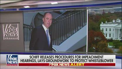 Schiff releases procedures for public impeachment hearings
