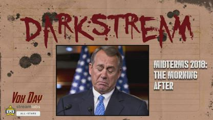DARKSTREAM: Midterms 2018: The Morning After   / MIRROR VOX DAY