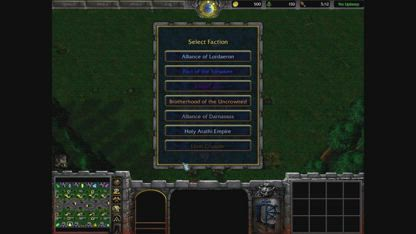 Warcraft 3 Classic: Attack of the Multiverse V0.03 - Ebon Crusade Preview