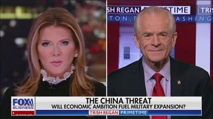 Navarro: Trump is making sure China is dealt with