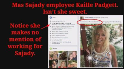 "Never Hire Kaille Padgett - ""Slave Bitch"" PR for Sleazy Sex Guru Mas Sajady"