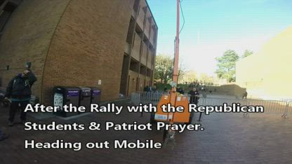 Sons Of Seattle stand with Joey Gibson Tiny & UW Republican's Rally in Seattle