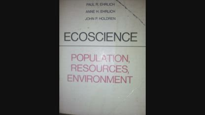 Ecoscience: What does it really say?