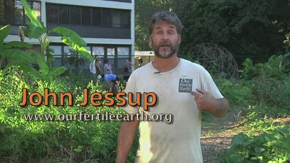 Permaculture Gardens!  With John Jessup at Edgewood Gardens