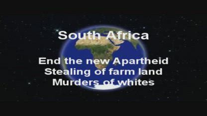 South Africa white farm murders and land confiscation 1