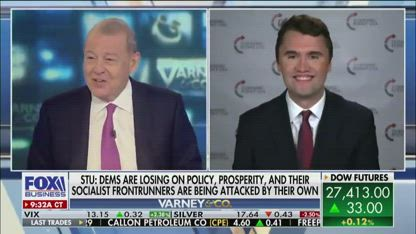 First-time voters gravitating towards Trump in 2020: Charlie Kirk
