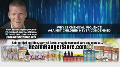 Why is CHEMICAL VIOLENCE against children never condemned?