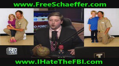 Political Prisoner Schaeffer Cox Mentioned by Caller on Alex Jones Show with Tom Pappert