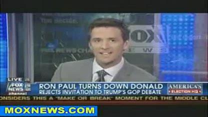 2011 Candidates Ron Paul and Jon Huntsman dump on Donald Trump's invite to GOP debate