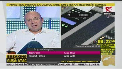 Gușă în ultima zi de emisie la RealitateaTv