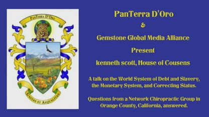 Kenneth scott talk on the World System to a Network Chiropractic group