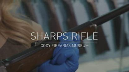 George Armstrong Custer's Sharps Rifle - The Gun Vault #22 - Cody Firearms Museum