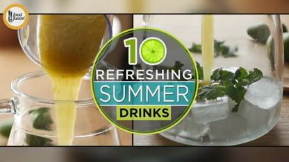 Top 10 refreshing summer drinks recipes by Food Fusion ( Iftar Drinks Recipes )