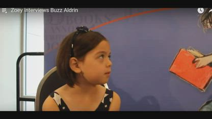 Buzz admits we didn't go to the moon....