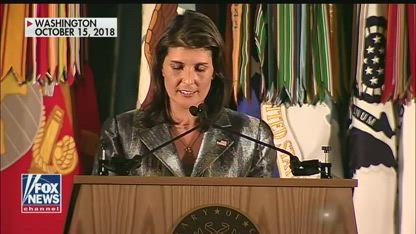 Nikki Haley defends allegations that Kelly, Tillerson tried to undermine Trump
