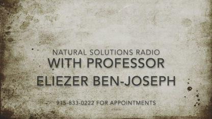 Natural Solutions Radio Saturday December 8th, 2018