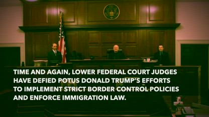 Border crisis: Is it time for President Trump to IGNORE activist federal judges?