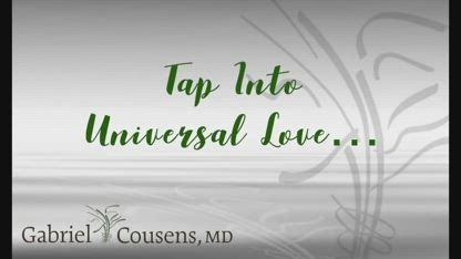 Tap Into Universal Love