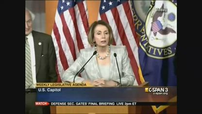 "FLASHBACK: In 2011, Pelosi Says Obama ""Did Not Need Authorization"" To Use Force In Libya"