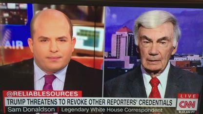 Trump vs CNN Acosta