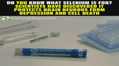 Do YOU know what selenium is for? Scientists have discovered it protects brain neurons from depression and cell death