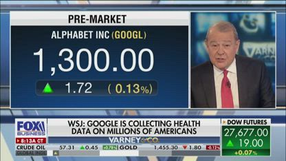 Google reportedly collecting Americans' health data
