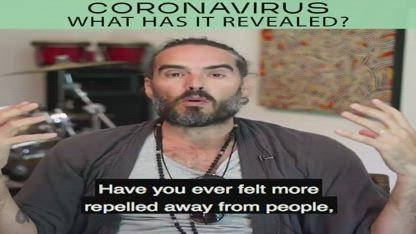 Corona virus talk with Russell Brand