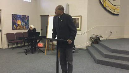 Pastor Keith Barker Preaches on the Gift of Tongues