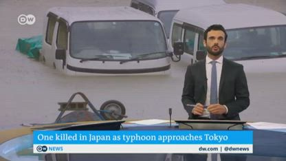 Super-typhoon Hagibis tears through Japan toward Tokyo  DW News