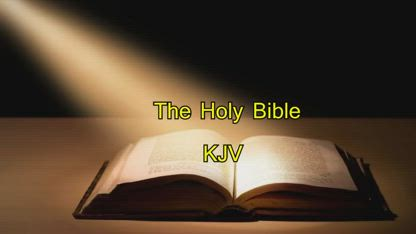 THE HOLY BIBLE | II CORINTHIANS read by Alexander Scourby