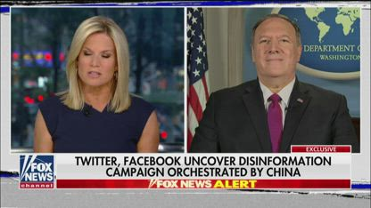 Mike Pompeo on Hong Kong protests, Iranian aggression