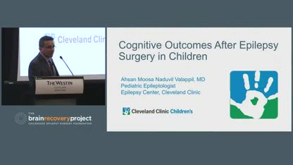 """""""Cognition After Resective/Disconnective Pediatric Epilepsy Surgery""""..."""