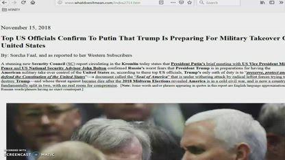 will Trump declare Martial Law...???