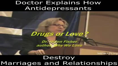 Doctor explains how antidepressants affect marriages and relationships