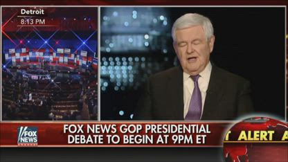 2016 Newt Gingrich - Trump Is Not In The Secret Society Club