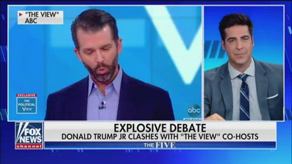 'The Five' reacts to Donald Trump Jr.'s viral appearance on 'The View'