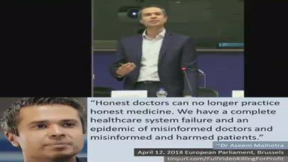 Medical establishment built on lies and deceit