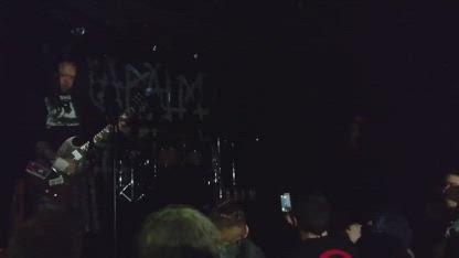 Napalm Death - Live @Dolans Warehouse, Limerick, 2017