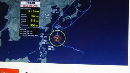 OMG ANOTHER JAPANESE NUKE PLANT AT RISK LINE OF FIRE OF TYPHOON TRAMI!