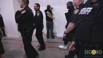 Kanye Performs At Harris County Jail