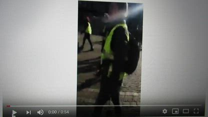 Dutch PM Mark Rutte on the run for yellow vests