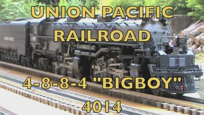 "UNION PACIFIC RAILROAD ""BIG BOY"" #4014  2m11s"