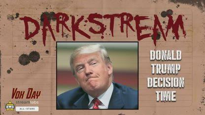 DARKSTREAM: Donald Trump Decision Time    / MIRROR VOX DAY