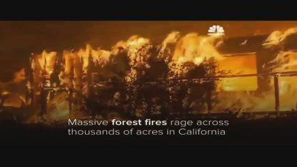THE CALIFORNIA FIRES AN ATTACK BY OUR MILITARY ON THE PEOPLE OF THE U.S.A.