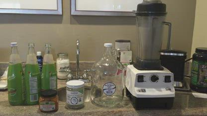 Genita Mason - Petralli's Demonstrates How to Make Organic Coconut Kefir and Yogurt