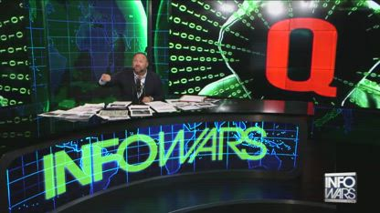 Alex Jones warns against Q Anon and Storm Area 51