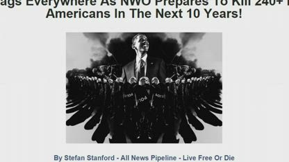 Deagal.com Predicts 240 Million Dead Americans Within 8 Years 16,623 views •Mar 11, 2017